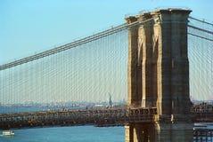 Brooklyn-Brücke New York lizenzfreies stockbild