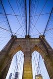 Brooklyn-Brücke - New York Stockfotos