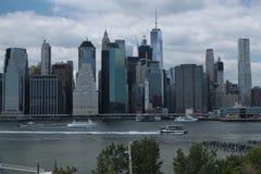Brooklyn-Brücke, New York Stockfotos