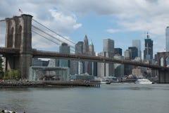 Brooklyn-Brücke, New York Lizenzfreie Stockbilder