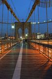 Brooklyn-Brücke, New York City Lizenzfreie Stockbilder