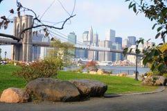 Brooklyn-Brücke New York City Lizenzfreie Stockbilder