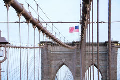 Brooklyn-Brücke in New York City Stockfoto