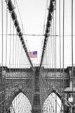 Brooklyn-Brücke in New York City Stockfotografie