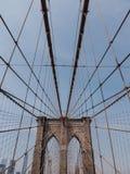 Brooklyn-Brücke NYC Lizenzfreie Stockfotos