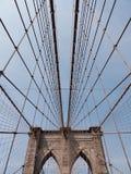 Brooklyn-Brücke NYC Lizenzfreie Stockbilder