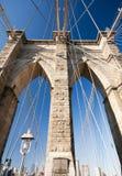 Brooklyn-Brückeen-Kontrollturm Stockbild