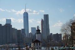 Brooklyn-Brücken-Park 50 Stockbild