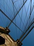 Brooklyn-Brücken-Säule Stockbilder