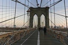 brooklyn bridżowy miasto nowy York Zdjęcie Stock