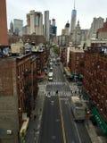 brooklyn bridżowy widok Obraz Stock