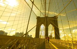 Brooklyn_bridge-04 Royalty Free Stock Images