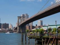 Brooklyn bridge Stock Photography