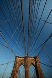 Brooklyn Bridge. New York, USA Stock Photos