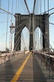 Brooklyn Bridge. Tourists on the Brooklyn Bridge Stock Photography