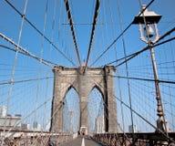 Brooklyn bridge. This is a shot of brooklyn bridge Stock Images