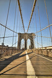 The Brooklyn Bridge Royalty Free Stock Photos