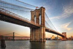 Free Brooklyn Bridge Royalty Free Stock Image - 15432576