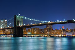 Brooklyn Bridge. Royalty Free Stock Photo