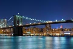 Brooklyn Bridge. Royalty Free Stock Photo