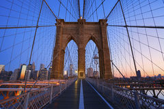 Brooklyn Bridge. Stock Images