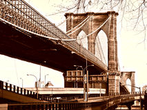 Free Brooklyn Bridge Royalty Free Stock Photography - 27557467