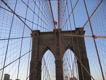 Brooklyn Bridge. NYC royalty free stock photography
