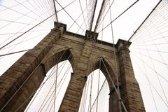 Brooklyn Bridge 4 Royalty Free Stock Images