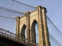 Brooklyn Bridge. The Brooklyn Bridge in New York City Royalty Free Stock Image