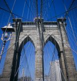 Brooklyn Bridge. New York City Royalty Free Stock Photo