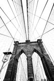 Brooklyn bridge. The famous brooklyn bridge in new york Royalty Free Stock Image