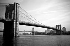 Brooklyn Bridge. New York City Royalty Free Stock Photography