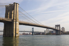Brooklyn Bridge. New York City Stock Images
