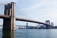 Brooklyn Bridge. New York City Royalty Free Stock Images