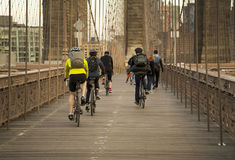 Brooklyn Bridge Afternoon Stock Image