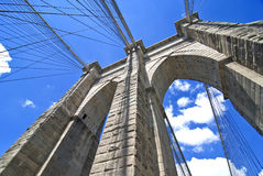 Brooklyn Bridge Architecture Royalty Free Stock Photography