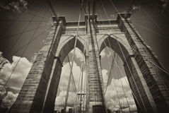 Brooklyn Bridge Architecture Stock Photography