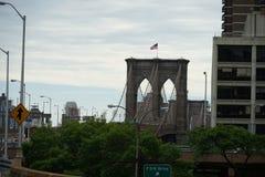 Brooklyn Bridge. Shooting location :  Manhattan, New York royalty free stock photos