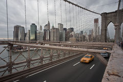 Brooklyn bridge. Brooklynbridge in new york manhattan Stock Image