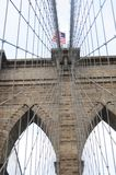 Brooklyn bridge close up 3. Brooklyn bridge close up in new york stock image