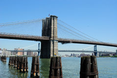 Brooklyn Bridge Day Royalty Free Stock Photos