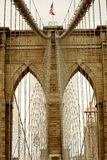 Brooklyn Bridge detail Stock Photo