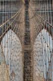 Brooklyn Bridge - Detail  New York City, NY Stock Photography