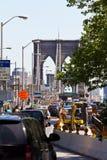 Brooklyn Bridge entrence Royalty Free Stock Photo