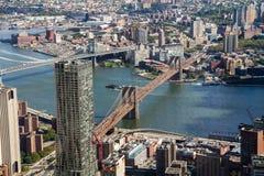 Brooklyn Bridge form the One World Trade Center