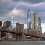 Brooklyn Bridge. Stock Photos