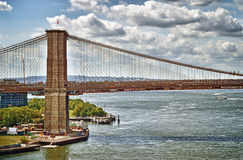 Brooklyn Bridge. Stock Photo