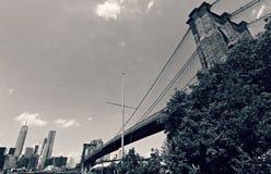 The Brooklyn Bridge Royalty Free Stock Image