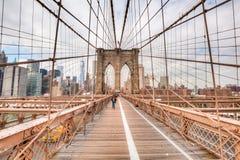 Free Brooklyn Bridge In New York City Royalty Free Stock Photography - 68948317