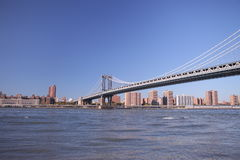 Free Brooklyn Bridge In New York. Photo Was Shot From Brooklyn S Side. Stock Image - 45630961